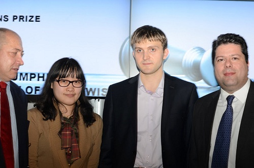 Congratulation to GM Nikita Vitugov and GM Zhao Xue.