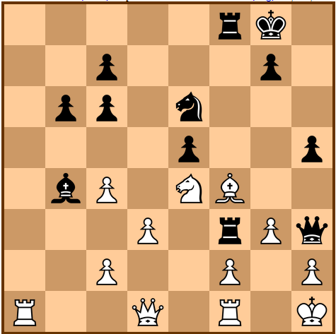 Carlsen-Aronian 27. Bf4 - what would you play here?