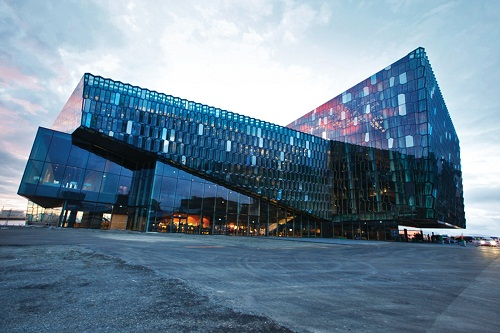 The beautiful Harpa.