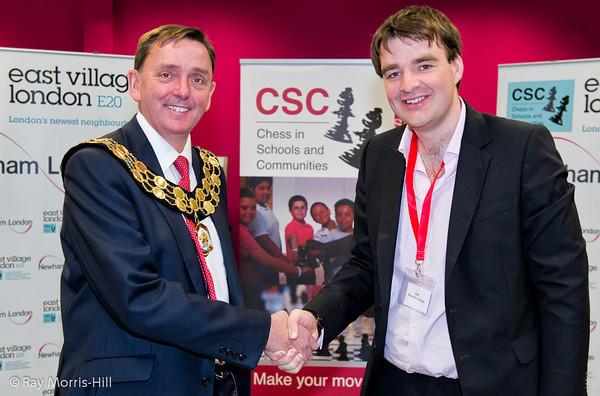 Mayor of Newham and the British Champion