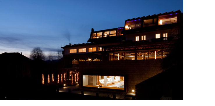 Our venue at dusk. Photo courtesy of http://www.hotelmilano.com/photogallery/index.html
