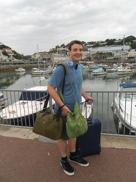 Guess who spotted another chess player in Torquay? An IM who was born there :-)