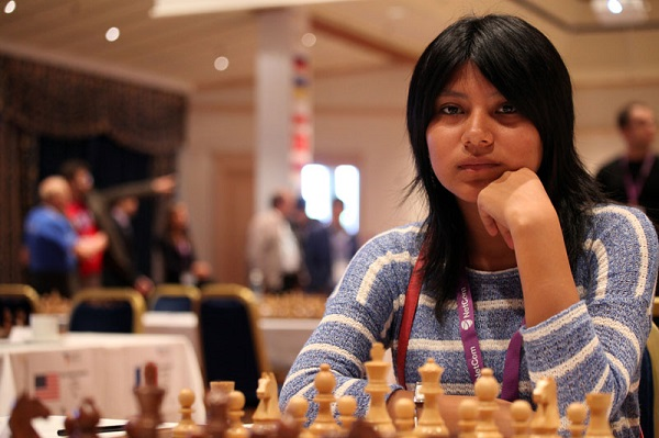 Deysi Cori, Yes the older sister of GM Cori. I think the only siblings to ever play in the World Cup. Can you name several strong chess siblings? Photo by Anastasiya Karlovich