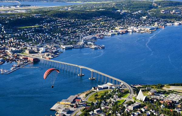 The Beautiful City of Tromso.