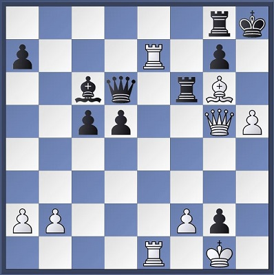 McShane vs Istratescu, White to move. After 30... Bc6?