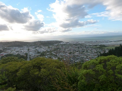 A view from the top, of the Centre,of NZ.