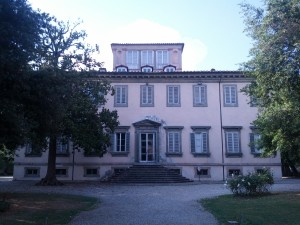 The Exterior of Villa Bottini