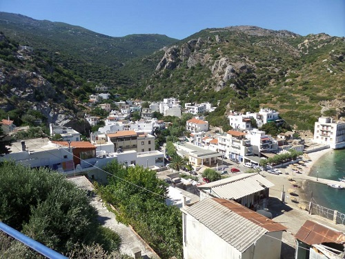 The beautiful village of Therma.
