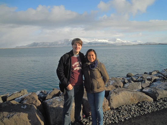 On my last visit to Iceland, just by the harbour in Reykjavik.