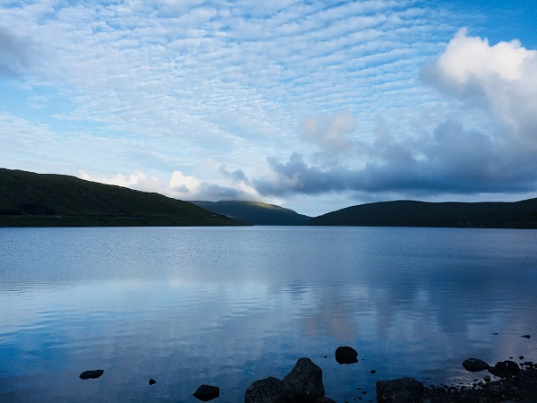 Lake Sørvágsvatn/Leitisvatn (name is debatable, depending on who you ask)